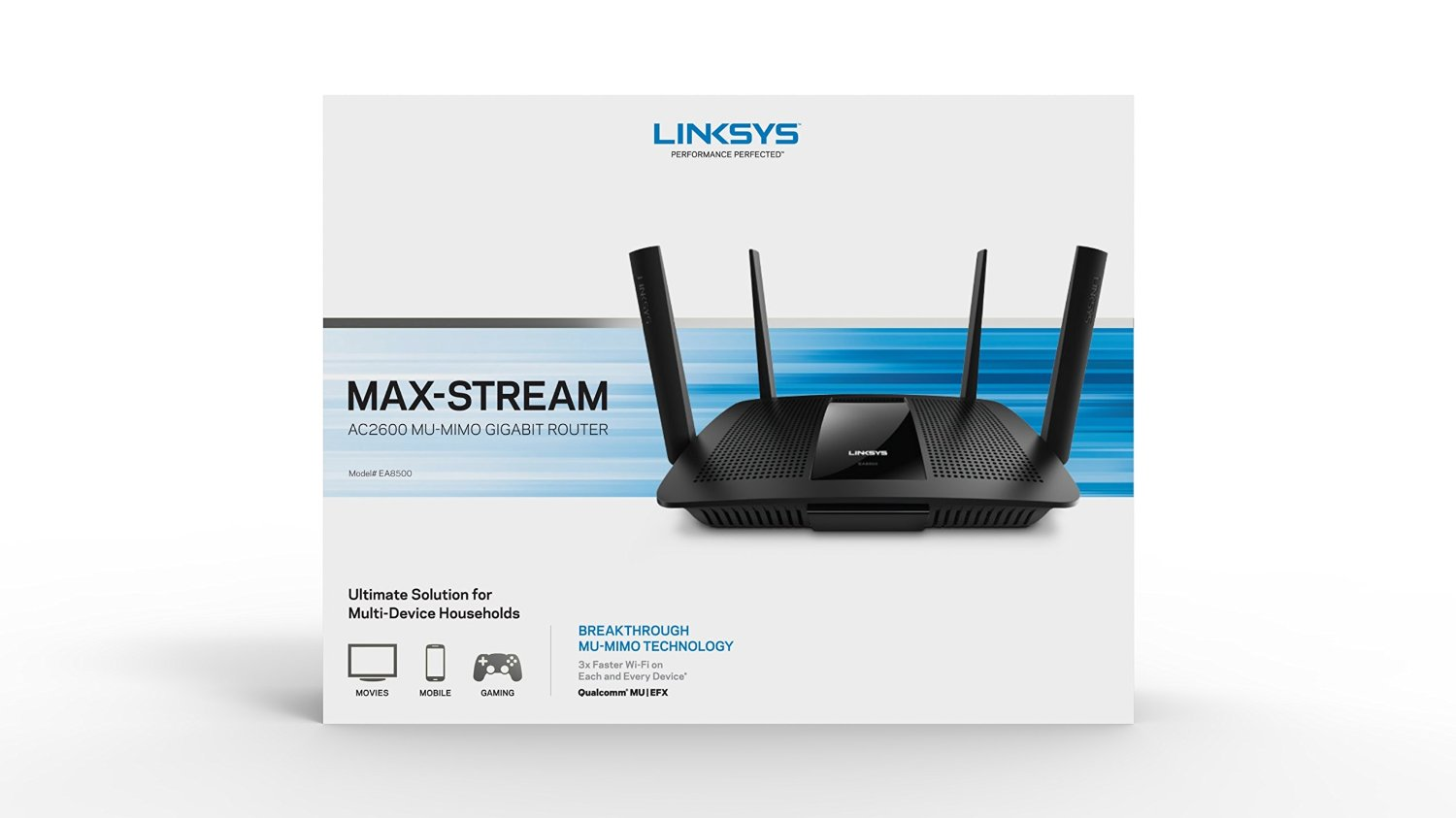 Linksys EA8500 - First MU-MIMO Enabled 802.11ac Router Set to Ship